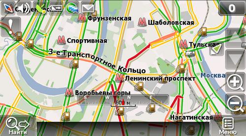 Специальная карта России для